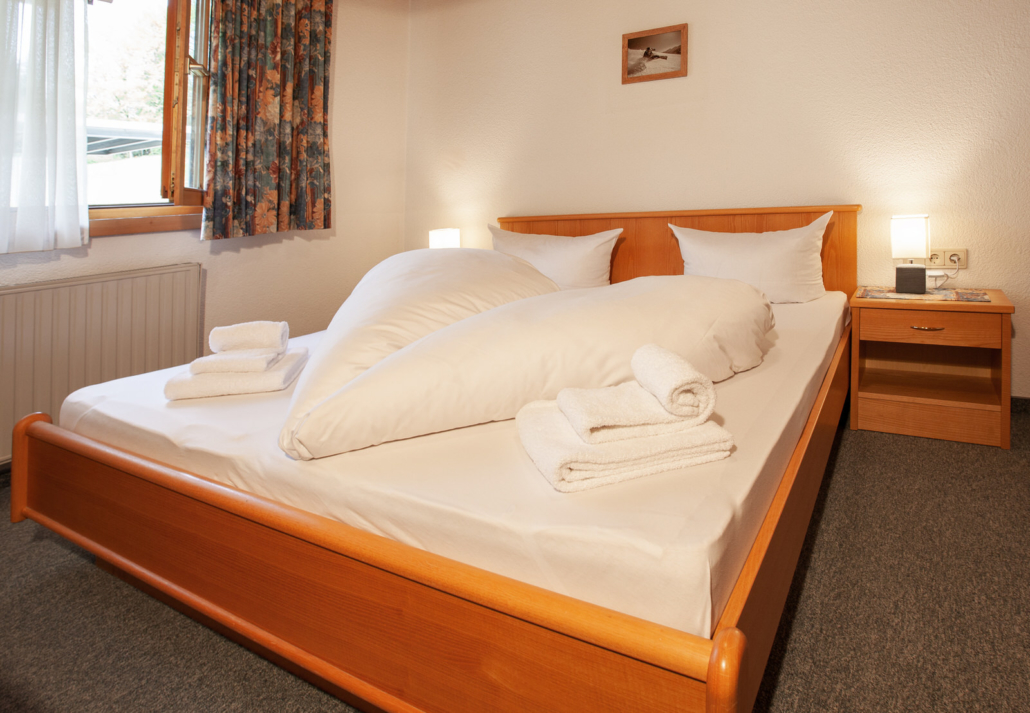 Doppelbett Apartment Matri 4 Arlberg