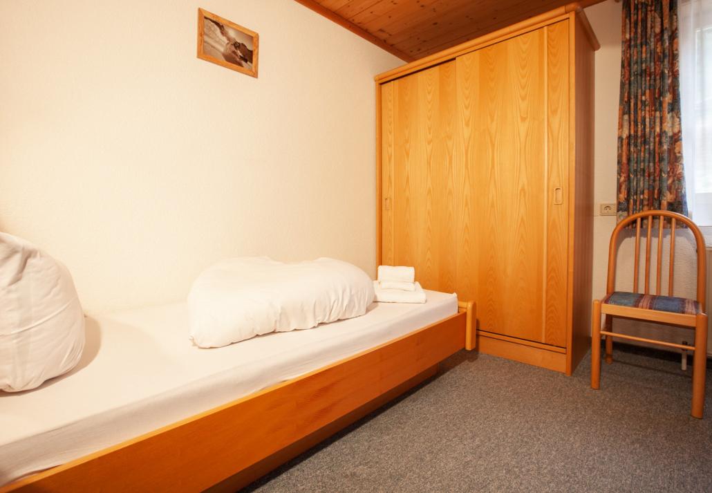 Schlafzimmer Apartment Matri 4 Arlberg