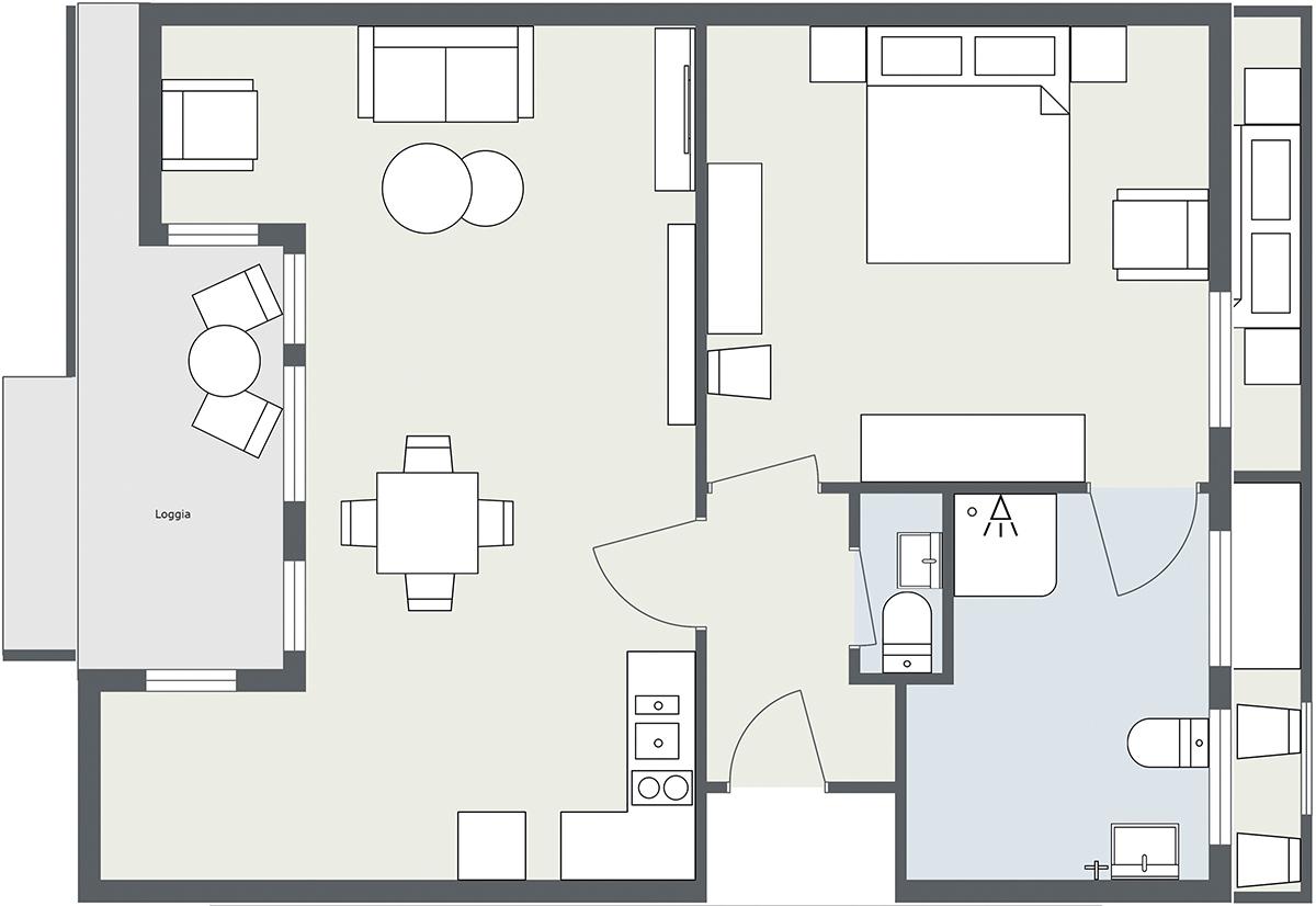 Map Apartment Matri 5 Arlberg