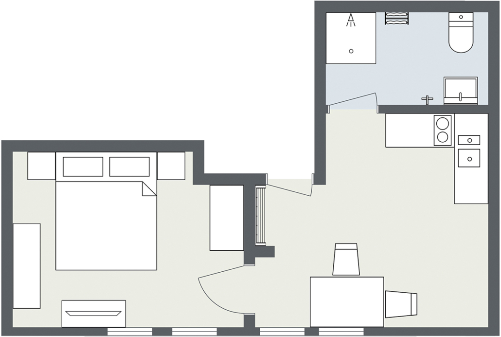 Map Apartment Matri 6