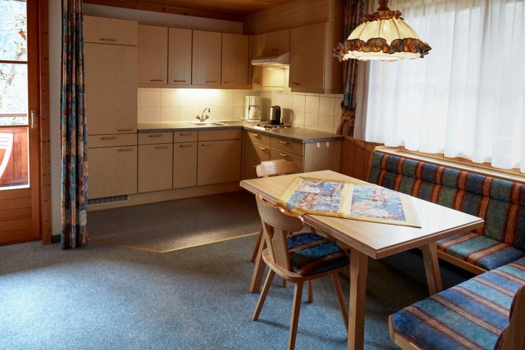 Wohnküche Apartment Matri 4